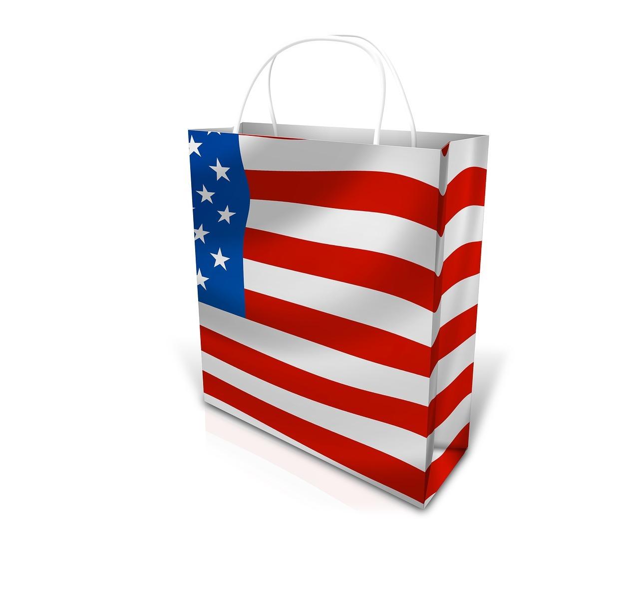アメリカ ショッピング