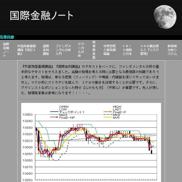 フォーサイトビジネスジャパン 投資顧問 評判 荒巻昌宏氏が執筆しているサイト『国際金融ノート』