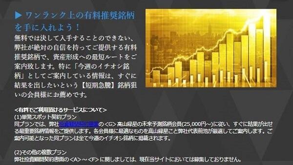 新生ジャパン投資 料金 評判 評価 検証 以前の有料コンテンツ