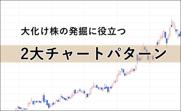 大化け株のチャート