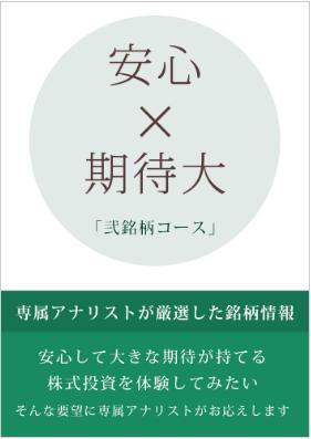 雅投資顧問 弐銘柄コース